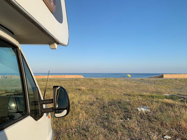 Catanzaro: le 5 spiagge libere accessibili con il camper