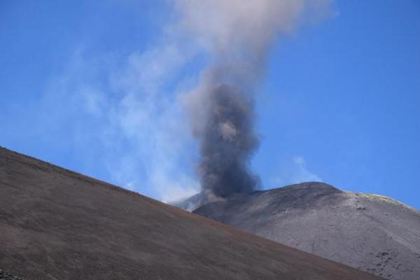 vulcano fumante